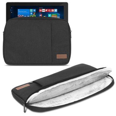 Tablet Tasche für CAPTIVA Pad 12 Hülle Schutzhülle Schwarz Cover Sleeve Case Bag – Bild 1