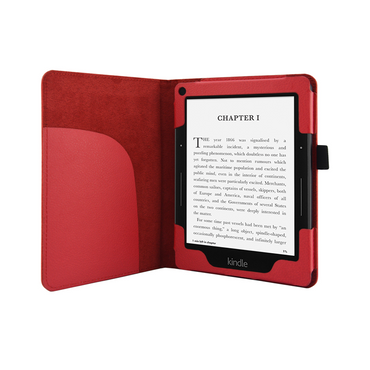 Hülle Tasche für Amazon Kindle Voyage Schutzhülle Cover Case Schutzcover Rot – Bild 5