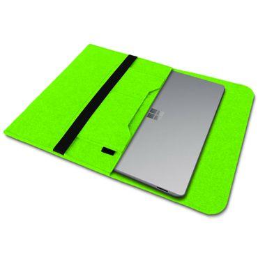 Tablet Schutzhülle Microsoft Surface Pro 7 Pro 6 - 2017 - 4 Tasche Hülle Filz – Bild 21