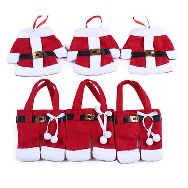 Bestecktasche Besteckbeutel Besteckhalter Serviettentasche Weihnachten Xmas Deko – Bild 7