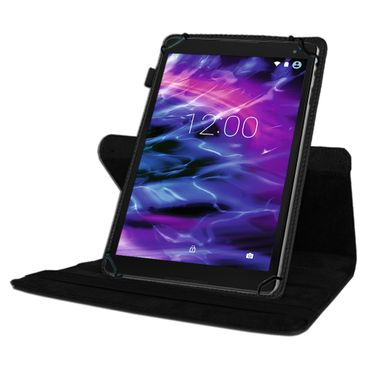 Medion Lifetab P9702 X10302 P10400 Tablet Hülle Tasche Schwarz Case Cover 360°  – Bild 3