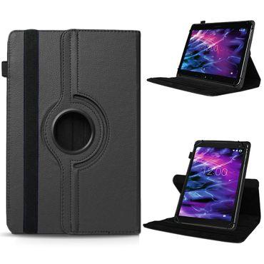 Medion Lifetab P9702 X10302 P10400 Tablet Hülle Tasche Schwarz Case Cover 360°  – Bild 1