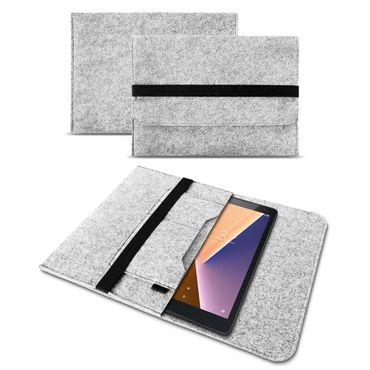 Sleeve Tasche Vodafone Tab Prime 6 / 7 Tablet Hülle Filz Case Schutzhülle Cover – Bild 14