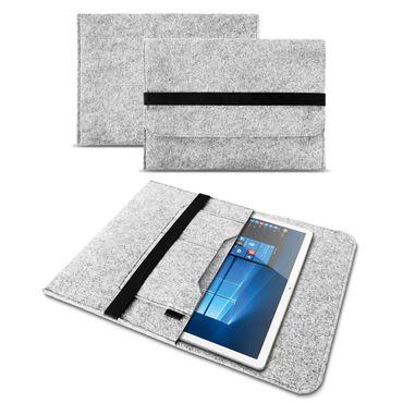 Sleeve Tasche für Lenovo Tab 4 10 Plus Tablet Hülle Filz Cover Case Schutzhülle – Bild 14