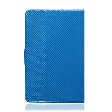 UC-Express® Robuste Tablet Schutzhülle für Ihr Samsung Galaxy Tab A 9.7 Tablet aus hochwertigem Kunstleder in edler Carbon Optik mit praktischer Standfunktion Schutztasche Stand Tasche Cover Case Etui – Bild 13