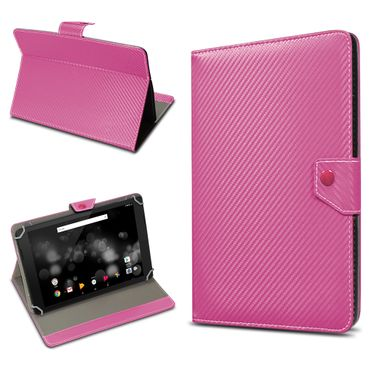 Amazon Fire HD 10 Tablet Tasche Hülle Schutzhülle Case Cover Carbon-Optik Etui – Bild 17