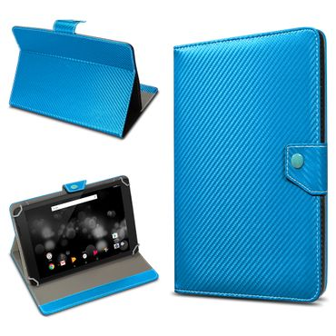 Amazon Fire HD 10 Tablet Tasche Hülle Schutzhülle Case Cover Carbon-Optik Etui – Bild 22