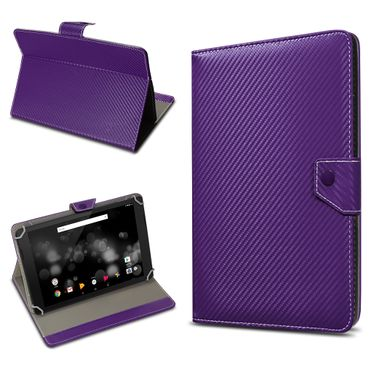 Amazon Fire HD 10 Tablet Tasche Hülle Schutzhülle Case Cover Carbon-Optik Etui – Bild 12
