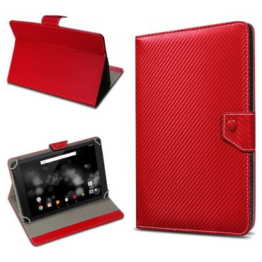 Amazon Fire HD 10 Tablet Tasche Hülle Schutzhülle Case Cover Carbon-Optik Etui – Bild 7