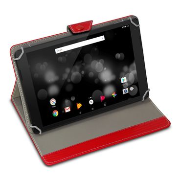 Amazon Fire HD 10 Tablet Tasche Hülle Schutzhülle Case Cover Carbon-Optik Etui – Bild 8