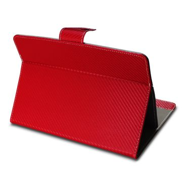 Amazon Fire HD 10 Tablet Tasche Hülle Schutzhülle Case Cover Carbon-Optik Etui – Bild 10