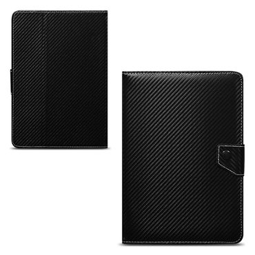 Amazon Fire HD 10 Tablet Tasche Hülle Schutzhülle Case Cover Carbon-Optik Etui – Bild 6