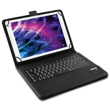 Medion Lifetab P10612 P10610 E10604 P10606 Hülle Tasche Tastatur Bluetooth Case – Bild 3