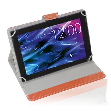 UC-Express® Robuste Tablet Schutzhülle für Ihr Medion Lifetab S10321 MD 98687 Tablet aus hochwertigem Kunstleder in edler Carbon Optik mit praktischer Standfunktion Schutztasche Stand Tasche Cover Case Etui – Bild 17