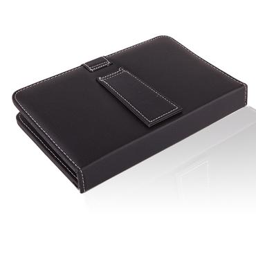 NAUC Hülle Tasche Keyboard Case für Odys Rise 10 / Space 10 Plus 3G Tastatur QWERTZ Standfunktion Micro USB  – Bild 5