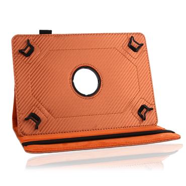 Robuste Carbon-Design Tablet-Schutzhülle für Ihr Medion Lifetab S10351 S10352 Tablet aus hochwertigem Kunstleder mit praktischer Standfunktion und 360° Drehfunktion kombiniert Schutz und Design Hülle Cover Case Stand Tasche von UC-Expre – Bild 20