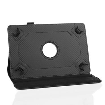 Robuste Carbon-Design Tablet-Schutzhülle für Ihr Medion Lifetab S10351 S10352 Tablet aus hochwertigem Kunstleder mit praktischer Standfunktion und 360° Drehfunktion kombiniert Schutz und Design Hülle Cover Case Stand Tasche von UC-Expre – Bild 6