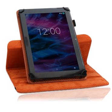 Robuste Carbon-Design Tablet-Schutzhülle für Ihr Medion Lifetab S10351 S10352 Tablet aus hochwertigem Kunstleder mit praktischer Standfunktion und 360° Drehfunktion kombiniert Schutz und Design Hülle Cover Case Stand Tasche von UC-Expre – Bild 18