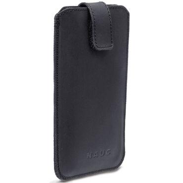 Leder Tasche für Huawei P20 Lite Schutzhülle Pull Tab Hülle Cover Case Schwarz – Bild 3