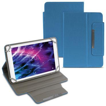 Tablet Tasche für Medion Lifetab X10605 X10607 Hülle Blau Schutzhülle Cover Case – Bild 1