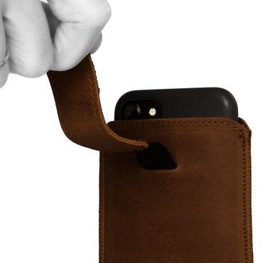 TP-Link Neffos C5L Leder Tasche Schutzhülle Pull Tab Hülle Cover Schutz Case  – Bild 13