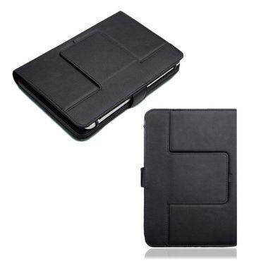 NAUC Hülle-Tasche-Keyboard-Case für Apple iPad Mini 2 3 Tastatur Bluetooth QWERTZ Standfunktion Micro USB  – Bild 4