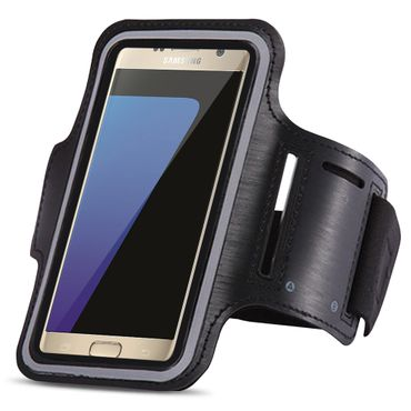 Samsung Galaxy S7 Edge Jogging Tasche Hülle Fitnesstasche Handy Sportarmband Bag – Bild 17