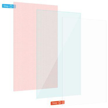 Display Schutz Folie für Excelvan BT1077 Tablet 3x Universal Display Schutzfolie – Bild 1