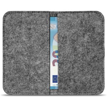 Filz Hülle Samsung Galaxy S7 / S7 Edge Tasche Cover Case Handy Flip Filztasche – Bild 5
