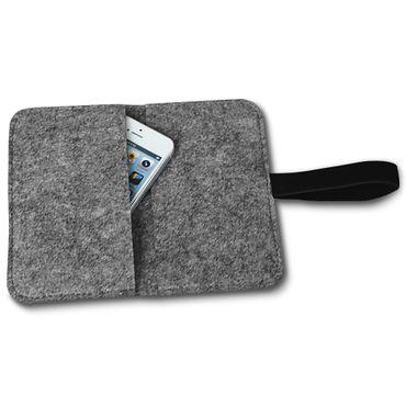Filz Hülle Samsung Galaxy S7 / S7 Edge Tasche Cover Case Handy Flip Filztasche – Bild 6