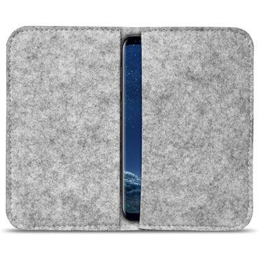 Filz Hülle Samsung Galaxy S7 / S7 Edge Tasche Cover Case Handy Flip Filztasche – Bild 9