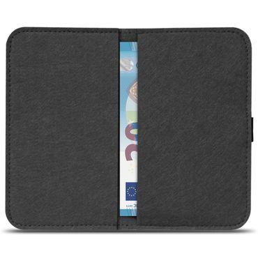 Filz Hülle Samsung Galaxy S7 / S7 Edge Tasche Cover Case Handy Flip Filztasche – Bild 18