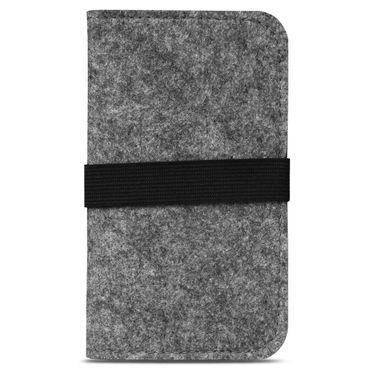 Medion Life E5020   E5005 Tasche Filz Hülle Cover Case Handy Flip Filztasche  – Bild 11