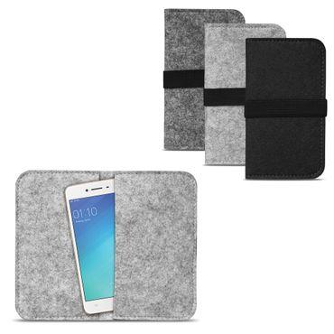 Filz Tasche für Huawei P20 Hülle Cover Handy Case Schutzhülle Schutz Filztasche – Bild 2