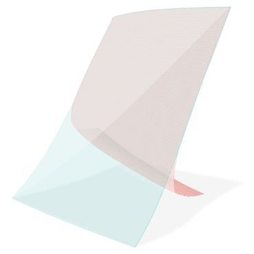 Displayschutz Folie Vodafone Tab Prime 7 Tablet Schutzfolie 2x klar Universal – Bild 6