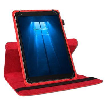 NAUCI Odys Wintab Ares 9 Tablet Robuste Universal Tablet Schutzhülle aus hochwertigem Kunstleder Hülle Tasche Standfunktion 360° Drehbar kombiniert Schutz und Design in 9 verschiedenen Farben Cover Case Universal  – Bild 10