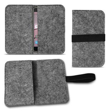 Filz Tasche für Huawei P20 Pro Hülle Cover Handy Case Schutzhülle Schutz Etui  – Bild 9