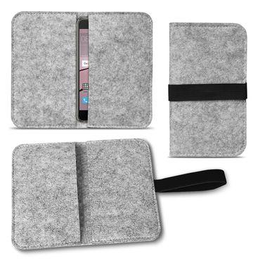 Filz Tasche für Huawei P20 Pro Hülle Cover Handy Case Schutzhülle Schutz Etui  – Bild 15