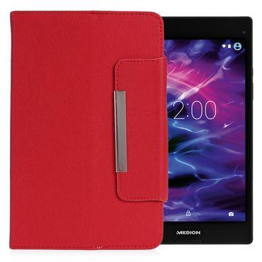 Medion Lifetab P8514 Tablet Tasche Hülle Schutzhülle Case Cover Leder-Optik  – Bild 8