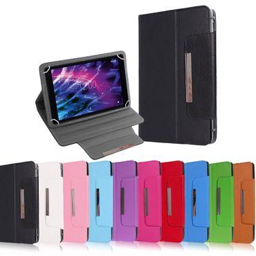 Medion Lifetab P8514 Tablet Tasche Hülle Schutzhülle Case Cover Leder-Optik  – Bild 1
