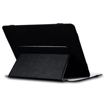 Denver TAQ-10182 Tasche Tablet Hülle Schwarz Schutzhülle Case Cover Lederimitat – Bild 3