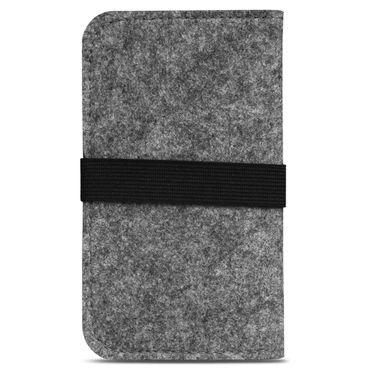 Smartphone Tasche Samsung Galaxy A3 2017 2016 2015 Cover Schutzhülle Sleeve Filz – Bild 12