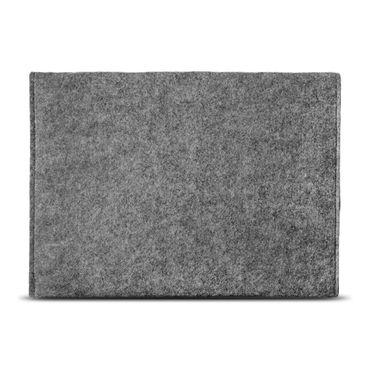 Laptop Tasche Sleeve Hülle Odys Winpad 10 2in1 Notebook Filz Grau Schutzhülle – Bild 4