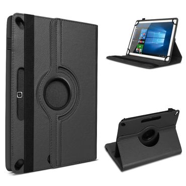 UC-Express Tablet Hülle für Lenovo TAB3 10 Business / Plus Kunstleder mit Standfunktion 360° Drehbar Cover Schutz Case – Bild 2