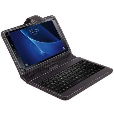 Samsung Galaxy Tab A6 10.1 Tablet Tasche USB Tastatur Keyboard Hülle Cover NAUC – Bild 2