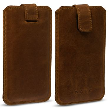 Smartphone Leder Tasche für Apple iPhone 7 Handyhülle Cover Pull Tab Case Hülle – Bild 11