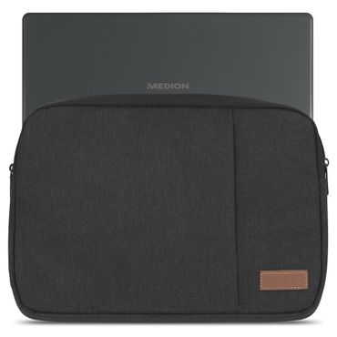 Medion Akoya E2228T Tasche Schwarz Notebook Hülle Schutzhülle Tablet Cover Case – Bild 2