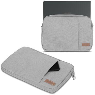 Medion Akoya E2228T Hülle Tasche Notebook Schutzhülle Schwarz / Grau Cover Case – Bild 8