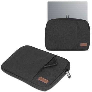 Microsoft Surface Laptop 13,5 Hülle Tasche Notebook Schutzhülle Schwarz / Grau Cover Case – Bild 1