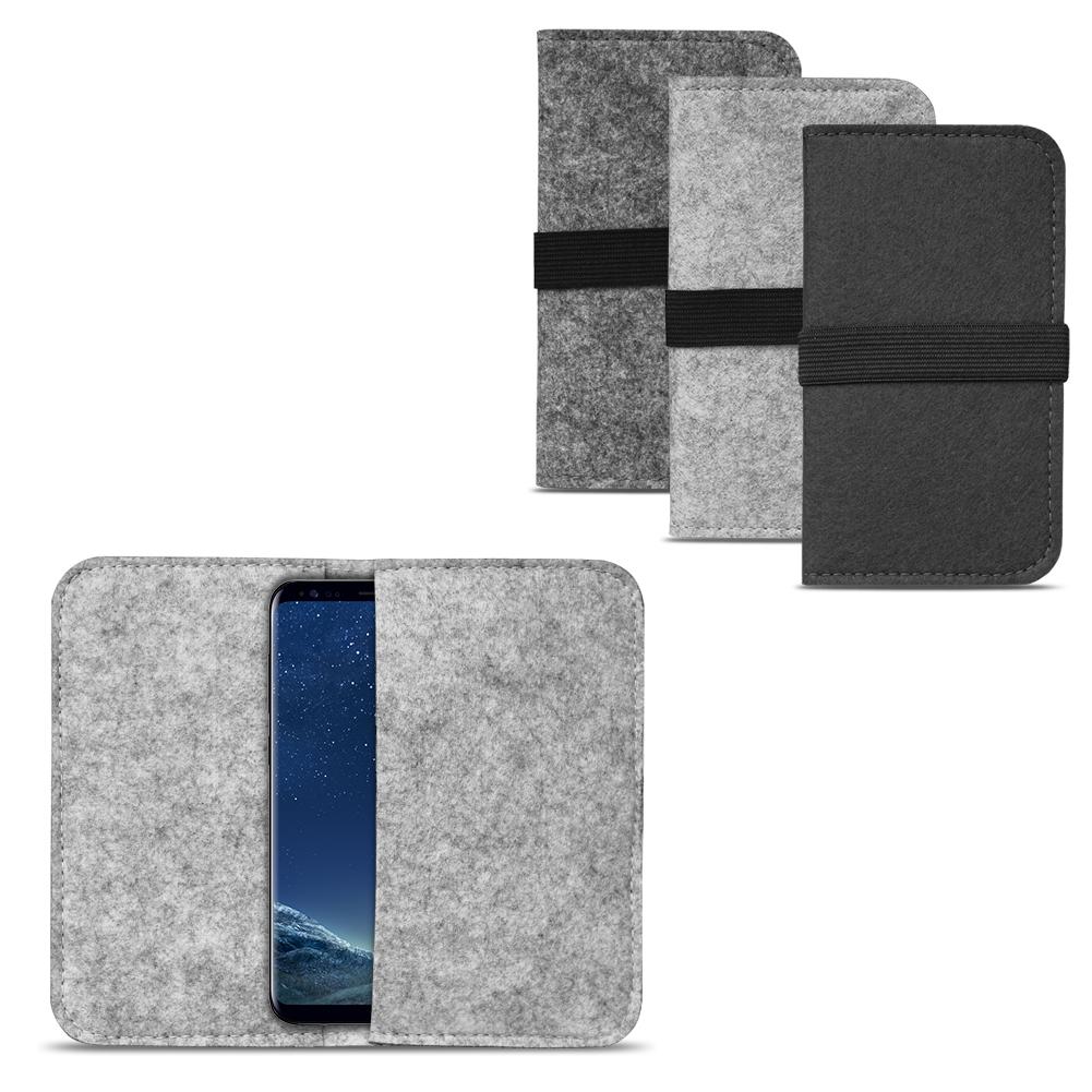 filz tasche f r samsung galaxy s8 s8 plus h lle cover. Black Bedroom Furniture Sets. Home Design Ideas